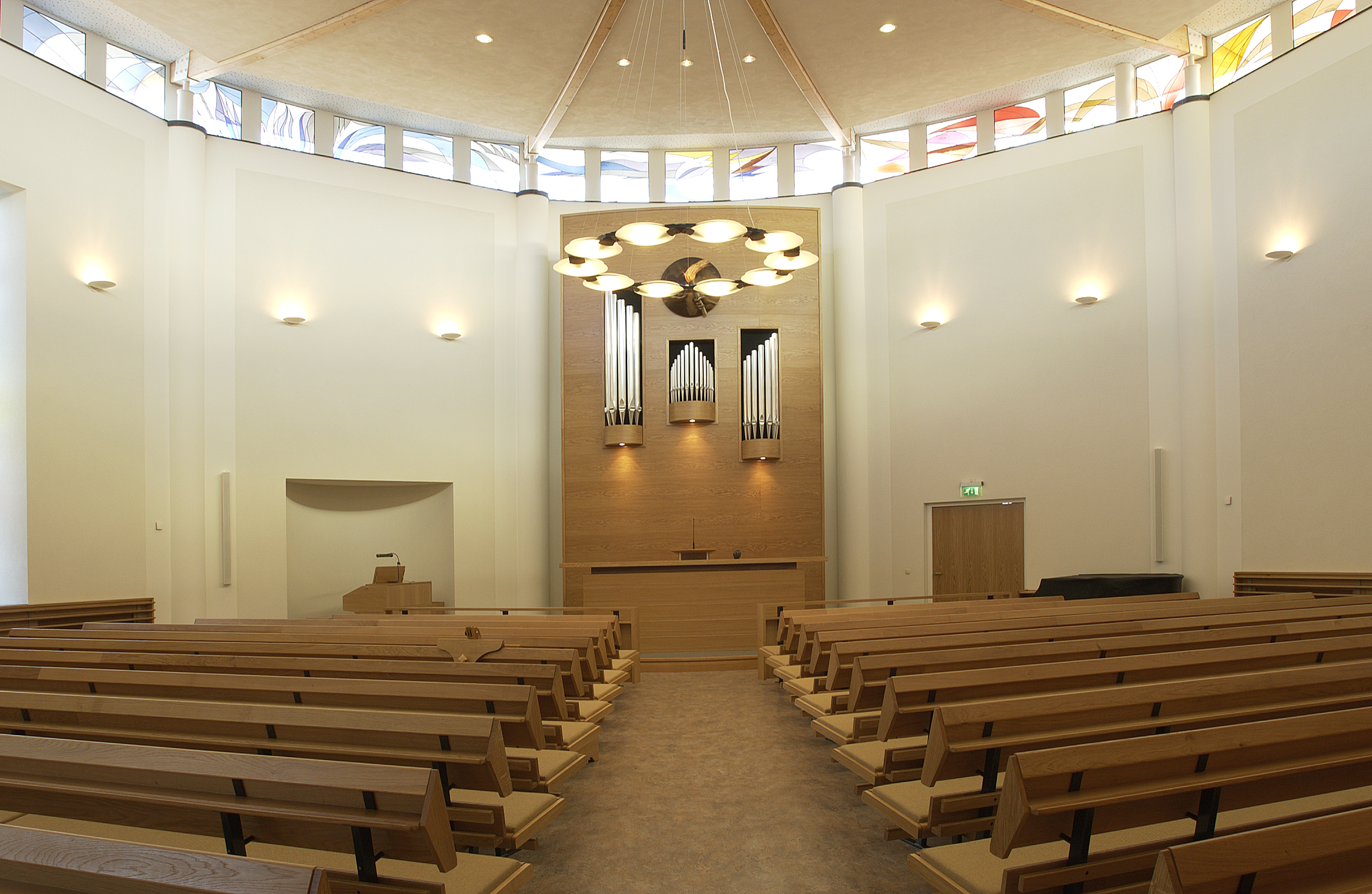 Kerk vlissingen project design lighting bv for Fvb interieur designs bv